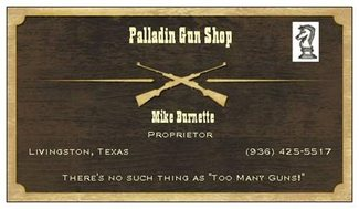 Paladins Hideout- FFL License Mike Burnette